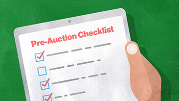 Mistakes to avoid at auction